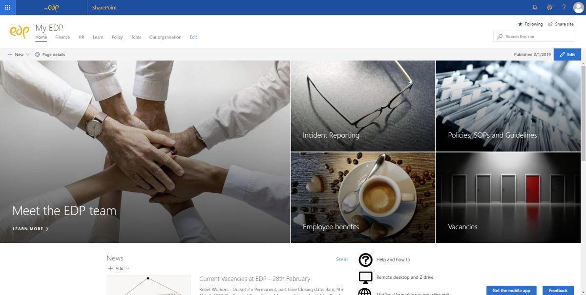 SharePoint, Office 365, Riven Associates